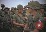 Image of 2nd Battalion of 173rd Airborne Brigade Combat Team Vietnam, 1965, second 60 stock footage video 65675022705