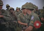 Image of 2nd Battalion of 173rd Airborne Brigade Combat Team Vietnam, 1965, second 61 stock footage video 65675022705