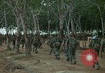 Image of 2nd Battalion of 173rd Airborne Brigade Combat Team Vietnam Bien Hoa Air Base, 1965, second 2 stock footage video 65675022708