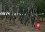 Image of 2nd Battalion of 173rd Airborne Brigade Combat Team Vietnam Bien Hoa Air Base, 1965, second 4 stock footage video 65675022708