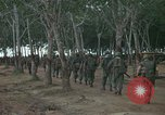 Image of 2nd Battalion of 173rd Airborne Brigade Combat Team Vietnam Bien Hoa Air Base, 1965, second 6 stock footage video 65675022708