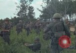Image of 2nd Battalion of 173rd Airborne Brigade Combat Team Vietnam Bien Hoa Air Base, 1965, second 11 stock footage video 65675022708