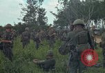 Image of 2nd Battalion of 173rd Airborne Brigade Combat Team Vietnam Bien Hoa Air Base, 1965, second 13 stock footage video 65675022708