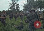 Image of 2nd Battalion of 173rd Airborne Brigade Combat Team Vietnam Bien Hoa Air Base, 1965, second 14 stock footage video 65675022708
