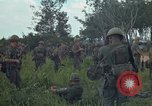 Image of 2nd Battalion of 173rd Airborne Brigade Combat Team Vietnam Bien Hoa Air Base, 1965, second 15 stock footage video 65675022708
