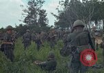 Image of 2nd Battalion of 173rd Airborne Brigade Combat Team Vietnam Bien Hoa Air Base, 1965, second 16 stock footage video 65675022708