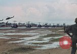 Image of 2nd Battalion of 173rd Airborne Brigade Combat Team Vietnam Bien Hoa Air Base, 1965, second 28 stock footage video 65675022708