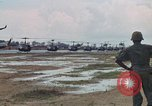 Image of 2nd Battalion of 173rd Airborne Brigade Combat Team Vietnam Bien Hoa Air Base, 1965, second 29 stock footage video 65675022708