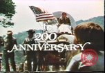Image of United States 200th Anniversary Washington DC USA, 1976, second 18 stock footage video 65675022742