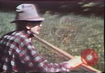 Image of Birch tree Canoe United States USA, 1975, second 14 stock footage video 65675022754