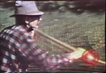 Image of Birch tree Canoe United States USA, 1975, second 16 stock footage video 65675022754