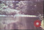Image of Birch tree Canoe United States USA, 1975, second 23 stock footage video 65675022754