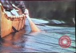 Image of Birch tree Canoe United States USA, 1975, second 27 stock footage video 65675022754