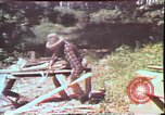 Image of Birch tree Canoe United States USA, 1975, second 43 stock footage video 65675022754