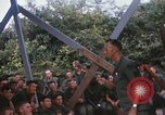 Image of 25th Infantry Division soldiers Vietnam Cu Chi, 1967, second 28 stock footage video 65675022778