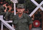 Image of 25th Infantry Division soldiers Vietnam Cu Chi, 1967, second 46 stock footage video 65675022782