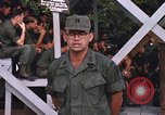 Image of 25th Infantry Division soldiers Vietnam Cu Chi, 1967, second 54 stock footage video 65675022782