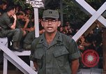 Image of 25th Infantry Division soldiers Vietnam Cu Chi, 1967, second 58 stock footage video 65675022782