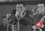Image of Stage performance Greenland Thule Air Force Base, 1954, second 16 stock footage video 65675022787