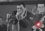 Image of Stage performance Greenland Thule Air Force Base, 1954, second 21 stock footage video 65675022787