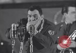 Image of Stage performance Greenland Thule Air Force Base, 1954, second 37 stock footage video 65675022787
