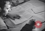 Image of men prepare weather data sheet Sierra Greenland, 1954, second 28 stock footage video 65675022805