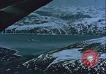 Image of Snow covered mountain peaks Arctic Region, 1954, second 42 stock footage video 65675022827