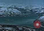 Image of Snow covered mountain peaks Arctic Region, 1954, second 48 stock footage video 65675022827
