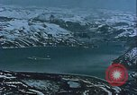 Image of Snow covered mountain peaks Arctic Region, 1954, second 51 stock footage video 65675022827