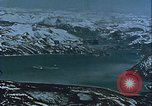Image of Snow covered mountain peaks Arctic Region, 1954, second 52 stock footage video 65675022827