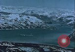 Image of Snow covered mountain peaks Arctic Region, 1954, second 54 stock footage video 65675022827