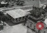 Image of Angeles City Pampangga WWII bomb damage Luzon Philippines, 1945, second 31 stock footage video 65675022851