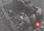Image of Wounded US Marines brought aboard USS Mount McKinley AGC-7 Peleliu Palau Islands, 1944, second 27 stock footage video 65675022862