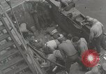 Image of Wounded US Marines brought aboard USS Mount McKinley AGC-7 Peleliu Palau Islands, 1944, second 28 stock footage video 65675022862