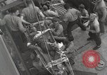 Image of Wounded US Marines brought aboard USS Mount McKinley AGC-7 Peleliu Palau Islands, 1944, second 45 stock footage video 65675022862