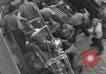 Image of Wounded US Marines brought aboard USS Mount McKinley AGC-7 Peleliu Palau Islands, 1944, second 46 stock footage video 65675022862