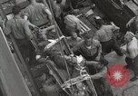 Image of Wounded US Marines brought aboard USS Mount McKinley AGC-7 Peleliu Palau Islands, 1944, second 47 stock footage video 65675022862
