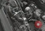 Image of Wounded US Marines brought aboard USS Mount McKinley AGC-7 Peleliu Palau Islands, 1944, second 48 stock footage video 65675022862