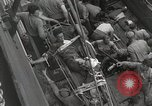 Image of Wounded US Marines brought aboard USS Mount McKinley AGC-7 Peleliu Palau Islands, 1944, second 49 stock footage video 65675022862