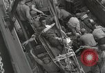 Image of Wounded US Marines brought aboard USS Mount McKinley AGC-7 Peleliu Palau Islands, 1944, second 50 stock footage video 65675022862