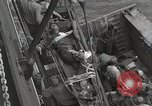 Image of Wounded US Marines brought aboard USS Mount McKinley AGC-7 Peleliu Palau Islands, 1944, second 52 stock footage video 65675022862