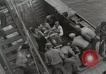 Image of Wounded US Marines brought aboard USS Mount McKinley AGC-7 Peleliu Palau Islands, 1944, second 56 stock footage video 65675022862
