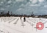 Image of U.S. Armed Forces Cemetery No. 1 Peleliu Palau Islands, 1944, second 1 stock footage video 65675022888