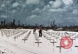 Image of U.S. Armed Forces Cemetery No. 1 Peleliu Palau Islands, 1944, second 7 stock footage video 65675022888