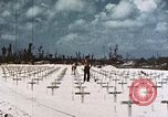 Image of U.S. Armed Forces Cemetery No. 1 Peleliu Palau Islands, 1944, second 9 stock footage video 65675022888