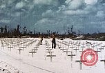 Image of U.S. Armed Forces Cemetery No. 1 Peleliu Palau Islands, 1944, second 13 stock footage video 65675022888