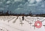 Image of U.S. Armed Forces Cemetery No. 1 Peleliu Palau Islands, 1944, second 14 stock footage video 65675022888