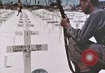 Image of U.S. Armed Forces Cemetery No. 1 Peleliu Palau Islands, 1944, second 20 stock footage video 65675022888
