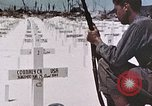Image of U.S. Armed Forces Cemetery No. 1 Peleliu Palau Islands, 1944, second 24 stock footage video 65675022888
