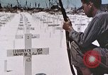 Image of U.S. Armed Forces Cemetery No. 1 Peleliu Palau Islands, 1944, second 25 stock footage video 65675022888